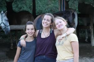 Filippa, Sofiya y Astrid
