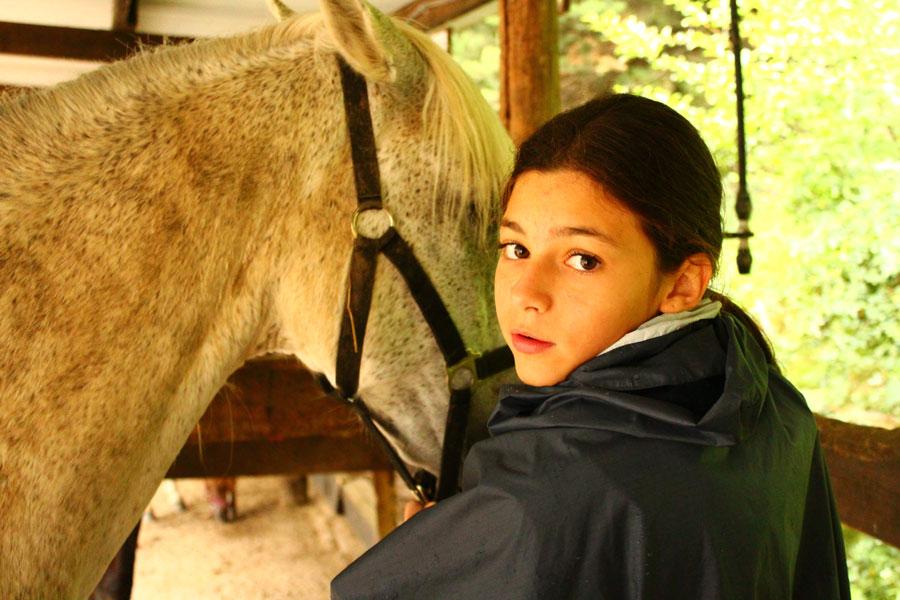 campamento de verano caballos
