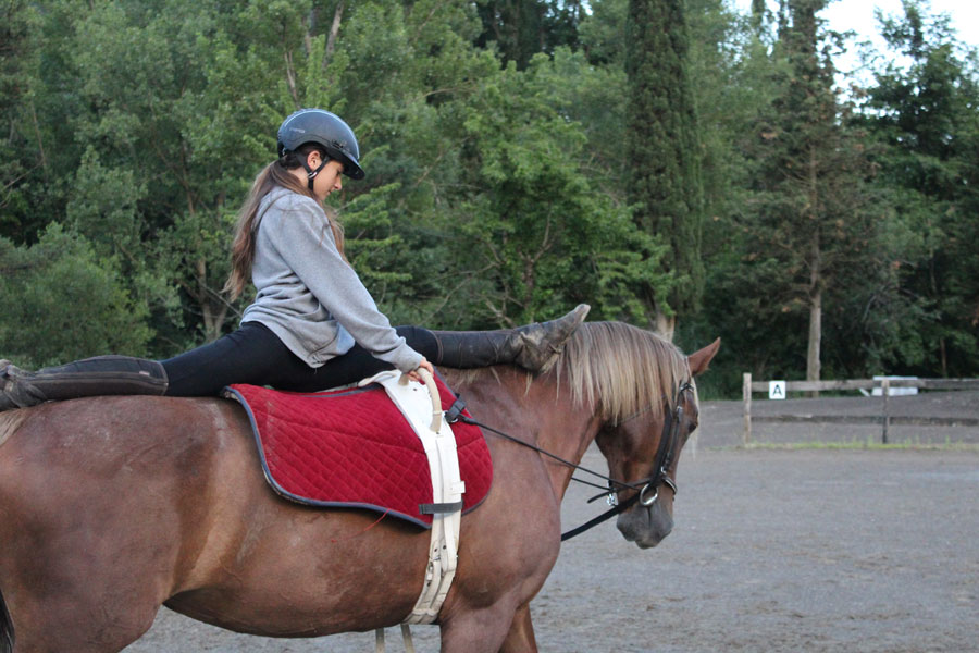campamento de verano equitacion