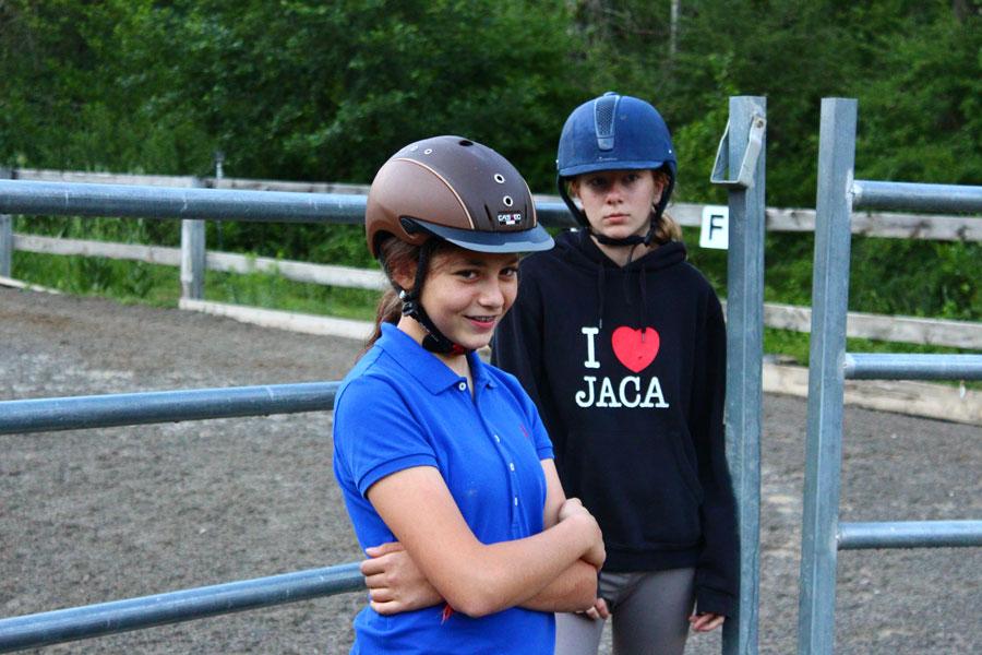 Equitacion campamento