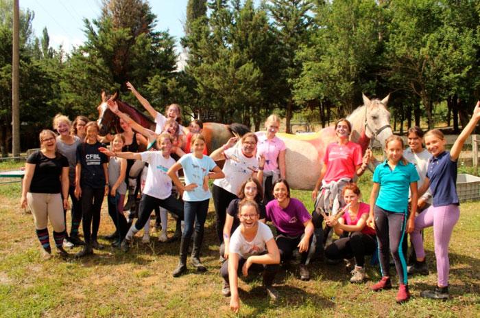 campamentos de caballos en jaca huesca