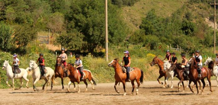 campamentos de equitacion para niños