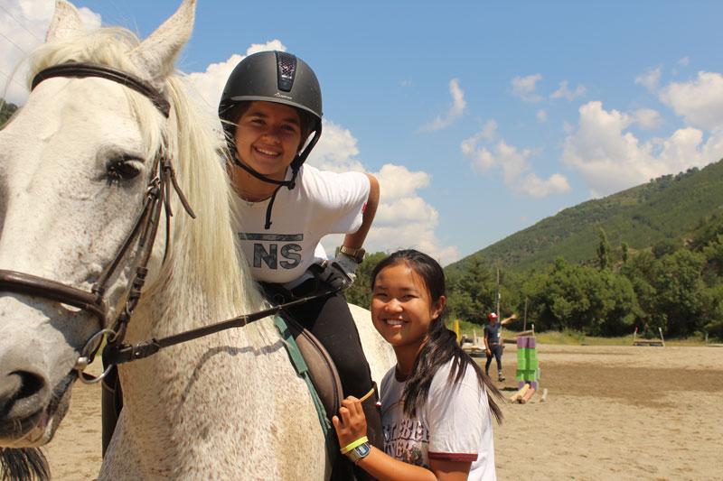 campamentos de equitacion