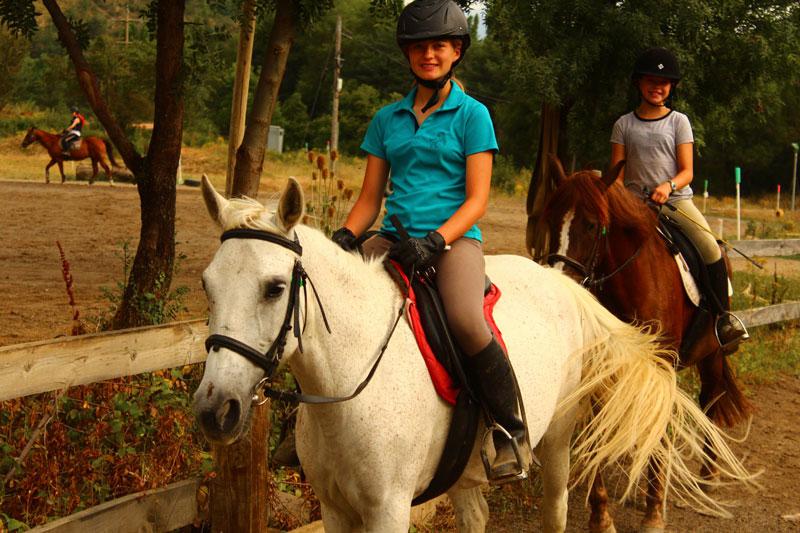 campamento equitacion jaca