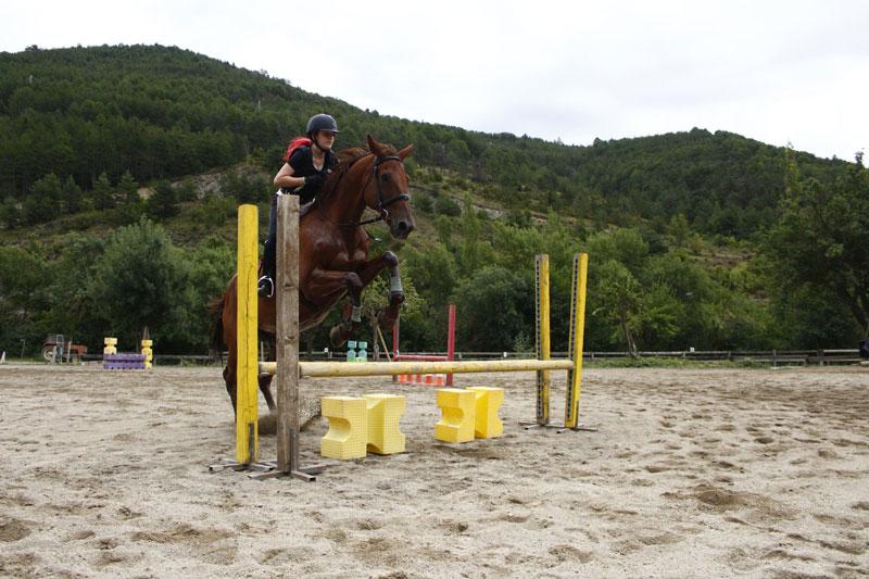 campamentos de verano equitacion pirineo