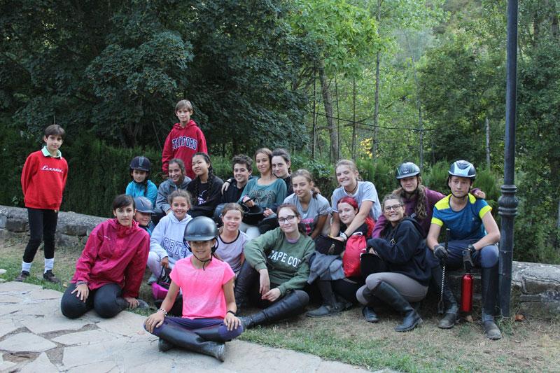 campamento hipica pirineo ecuestre