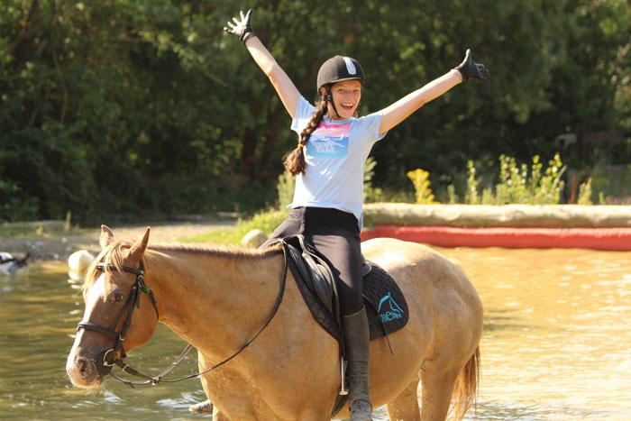 campamentos equitacion verano en jaca