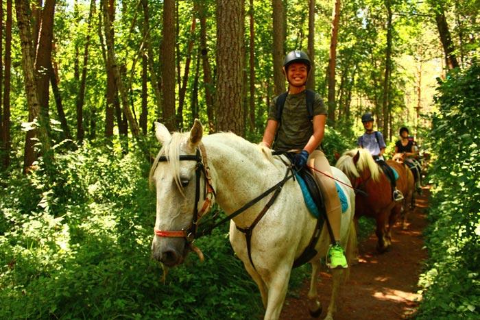 campamentos de equitacion pirineo ecuestre