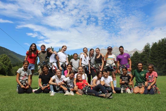 grupo semana 7 campamentos hipicos pirineo ecuestre